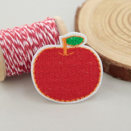접착식자수와팬)애플